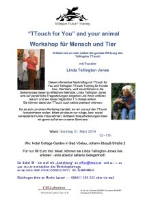 TT4Y and your animal LINDA 2019